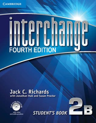 Interchange Level 2 Student's Book B with Self-study DVD-ROM (Paperback, 4th Revised edition): Jack C Richards