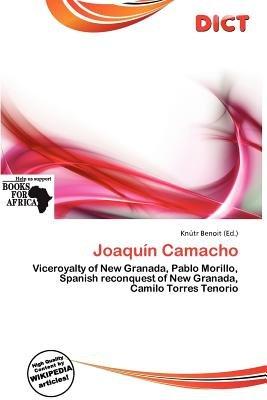 Joaqu N Camacho (Paperback): Knutr Benoit