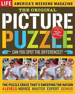 The Original Picture Puzzle - Can You Spot the Differences? (Paperback): Life Magazine