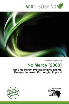 No Mercy (2000) (Paperback): Evander Luther