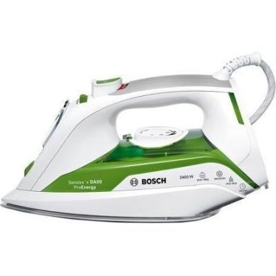 Bosch Pro Energy Steam Iron (White and Green) (2400 W):