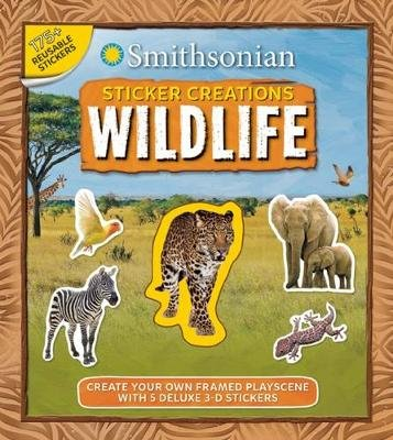 Smithsonian Sticker Creations: Wildlife (Paperback): Kaitlyn DiPerna