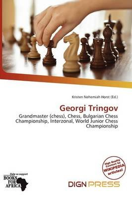 Georgi Tringov (Paperback): Kristen Nehemiah Horst