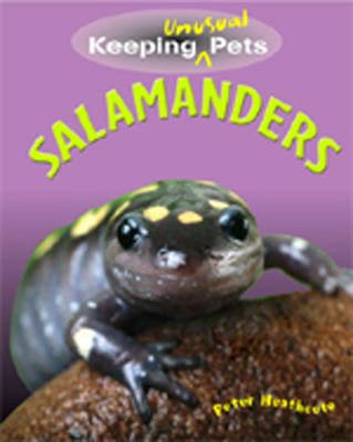 Keeping Unusual Pets: Salamanders (Hardcover): Peter Heathcote