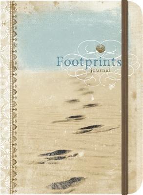 Footprints-Inspirational Message Blank Journals - Impulse Journals (Hardcover): Ellie Claire