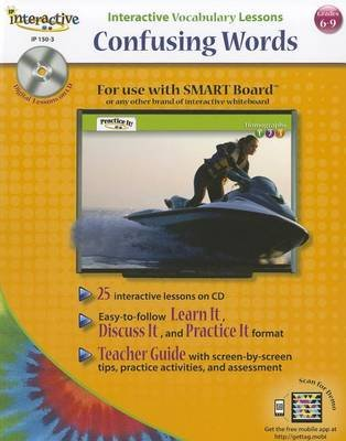 Interactive Vocabulary Lessons: Confusing Words (Paperback): Incentive Publications, Marjorie Frank, Jill Norris