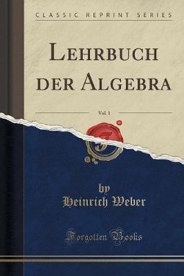 Lehrbuch Der Algebra, Vol. 1 (Classic Reprint) (German, Paperback): Heinrich Weber