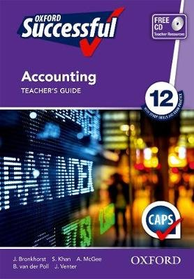 Oxford successful accounting: Gr 12: Teacher's guide (Paperback):