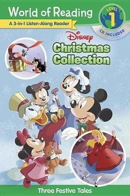 Disney Christmas Collection 3-In-1 Listen-Along Reader - Three Festive Tales (Paperback): Disney Book Group