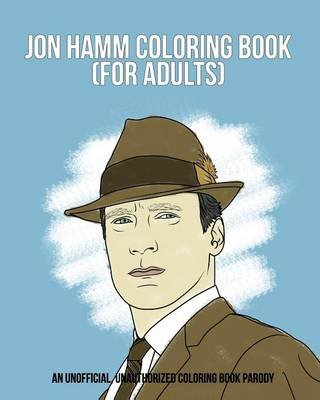 Jon Hamm Coloring Book (Paperback): Razzberry Books