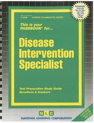 Disease Intervention Specialist (Spiral bound): Jack Rudman