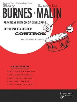 Developing Finger Control (Paperback): Roy Burns, Lewis Malen, Henry Adler