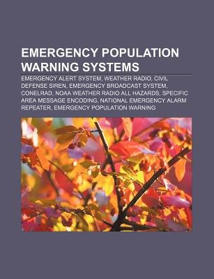 Emergency Population Warning Systems Emergency Alert