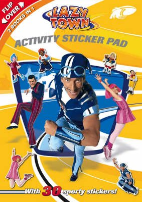 LazyTown - Activity Sticker Pad (Paperback):