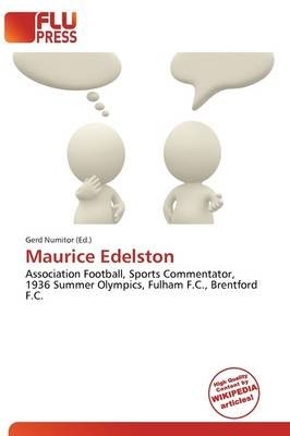 Maurice Edelston (Paperback): Gerd Numitor