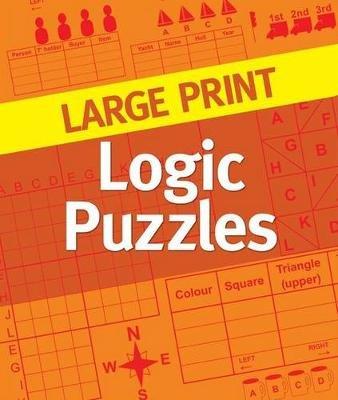 Large Print Logic Puzzles (Large print, Spiral bound, Large