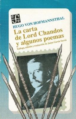 La Carta de Lord Chandos y Algunos Poemas (Spanish, Paperback): Hugo von Hofmannsthal