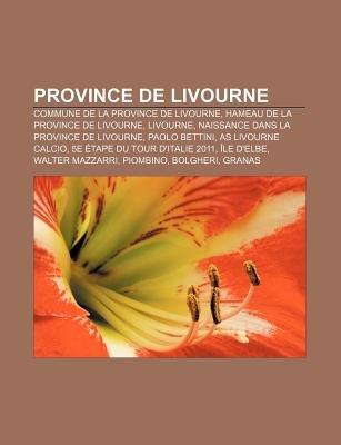 Province de Livourne - Commune de La Province de Livourne