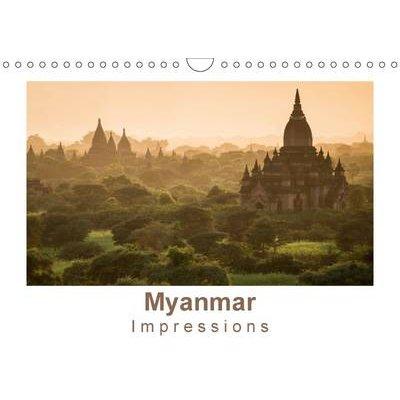 Myanmar Impressions 2017 - Le Temps Semble s'Etre Arrete ... (French, Calendar, 3rd Revised edition): Britta Knappmann