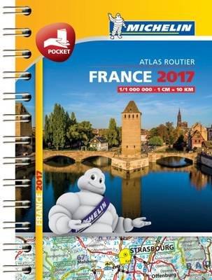 France Mini Atlas 2017 (Spiral bound):