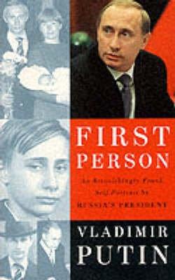 First Person (Paperback): Vladimir Putin