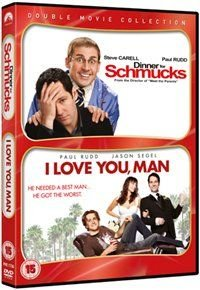 Dinner For Schmucks / I Love You, Man (DVD): Paul Rudd, Steve Carell, Jason Segel, J. K. Simmons, Zach Galifianakis, Rashida...