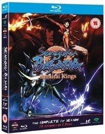 Sengoku Basara Samurai Kings Complete Series 1 English Japanese