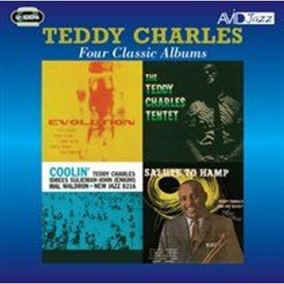 Teddy Charles - Four Classic Albums (Evolution/Tentet/Coolin'/Flyin' Home, Salute to Hamp) (CD): Teddy Charles