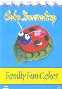 Cake Decorating Family Fun Cakes DVD Jenny Carter Sara