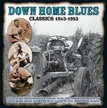 Down Home Blues Classics 1943-1953 (CD, Boxed set): Various Artists