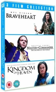 Braveheart / Master and Commander / Kingdom Of Heaven (DVD): Mel Gibson, Patrick McGoohan, Catherine McCormack, Angus...