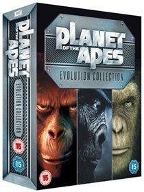Planet Of The Apes: Evolution Collection (DVD, Boxed set): Charlton Heston, Roddy McDowall, Kim Hunter, James Francisus, Sal...