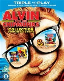 Alvin and the Chipmunks: Collection (Blu-ray disc): Justin Long, Jesse McCartney, Cameron Richardson, Jane Lynch, Anna Faris,...