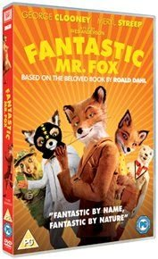 Fantastic Mr. Fox (DVD): George Clooney, Owen Wilson, Meryl Streep, Bill Murray, Willem Dafoe, Jason Schwartzman, Anjelica...