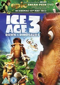 Ice Age 3 - Dawn of the Dinosaurs (English, Bulgarian, Turkish, DVD): John Leguizamo, Queen Latifah, Denis Leary, Ray Romano,...