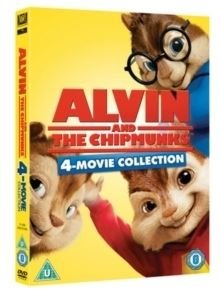 Alvin and the Chipmunks 1-4 (DVD): Jason Lee, David Cross, Jane Lynch, Zachary Levi, Justin Long, Jesse McCartney, Anna Faris,...