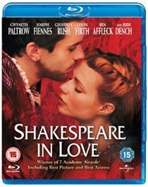 Shakespeare in Love (Blu-ray disc): Joseph Fiennes, Gwyneth Paltrow, Judi Dench, Ben Affleck, Colin Firth, Simon Callow,...