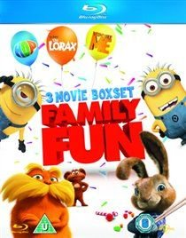 Hop/Despicable Me/The Lorax (Blu-ray disc): Kaley Cuoco, Russell Brand, Elizabeth Perkins, James Marsden, Steve Carell, Jason...