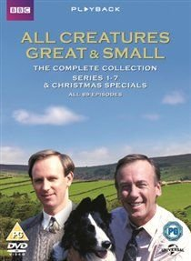 All Creatures Great and Small: Complete Series (DVD): Christopher Timothy, Robert Hardy, Peter Davison, Carol Drinkwater, Rio...