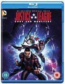 Justice League: Gods and Monsters (Blu-ray disc): Benjamin Bratt, Michael C. Hall, Jason Isaacs, Tamara Taylor, Paget Brewster,...