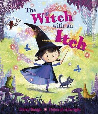 The Witch with an Itch (Paperback): Helen Baugh