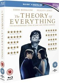 The Theory of Everything (Blu-ray disc): Felicity Jones, Emily Watson, Eddie Redmayne, David Thewlis, Charlie Cox, Lucy...