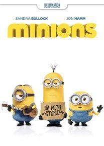 Minions (English & Foreign language, DVD): Allison Janney, Steve Coogan, Pierre Coffin, Sandra Bullock, Michael Keaton, Jon...