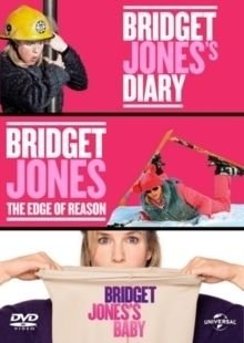 Bridget Jones's Diary/The Edge of Reason/Bridget Jones's Baby (DVD): Renée Zellweger, Gemma Jones, Colin Firth, Hugh...