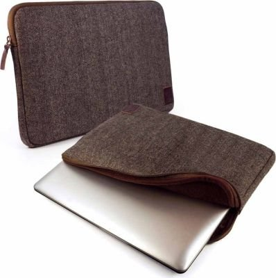 "Tuff-Luv Herringbone Tweed Sleeve Case Cover for 13"" Tablets:"