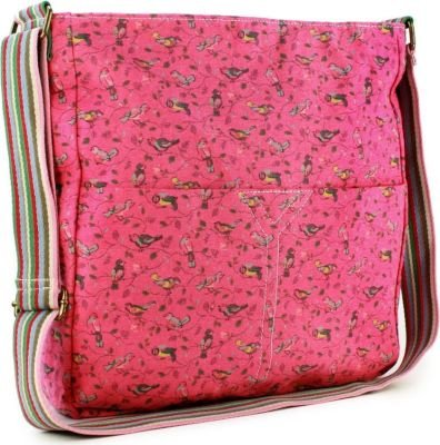 "Tuff-Luv Lulu Messenger Shoulder Bag for 10"" Tablets (Fuschia/Pink):"