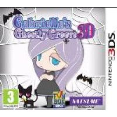 Gabrielle's Ghostly Groove 3D (Nintendo 3DS, Game cartridge):
