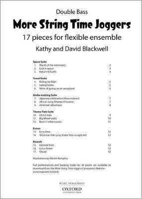 More String Time Joggers (Sheet music, Double bass part): Kathy Blackwell, David Blackwell