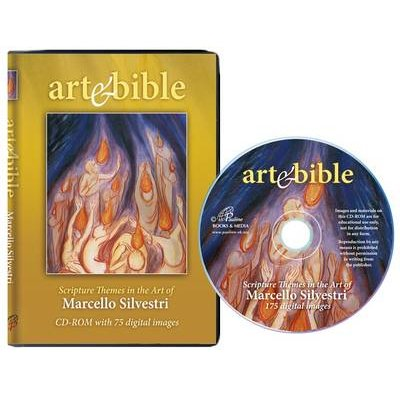 Art and Bible - Scripture Themes in the Art of Marcello Silvestri (CD-ROM): Marcello Silvestri