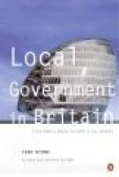 Local Government in Britain (Paperback, 7Rev ed): Tony Byrne